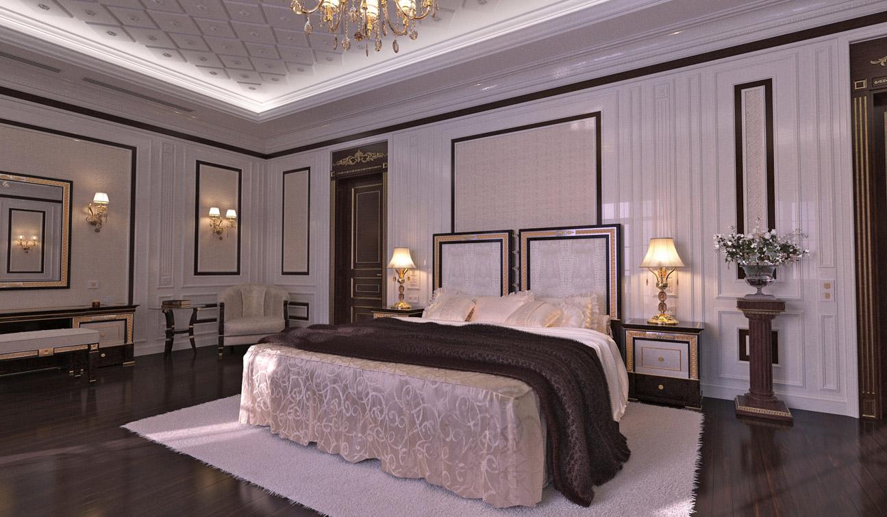 Indesignclub classic bedroom interior design in for Interior design bedroom traditional