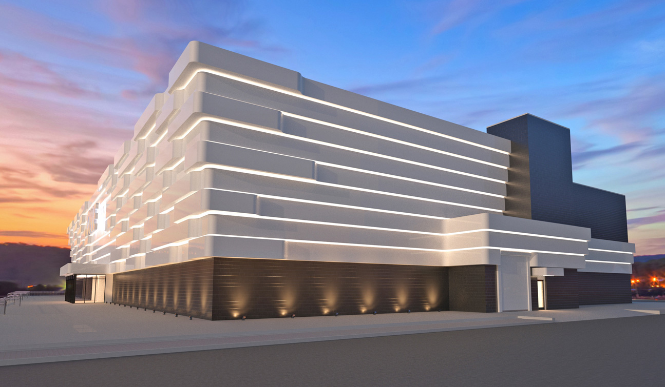 Concept design of a High End Shopping Mall facade 1_1