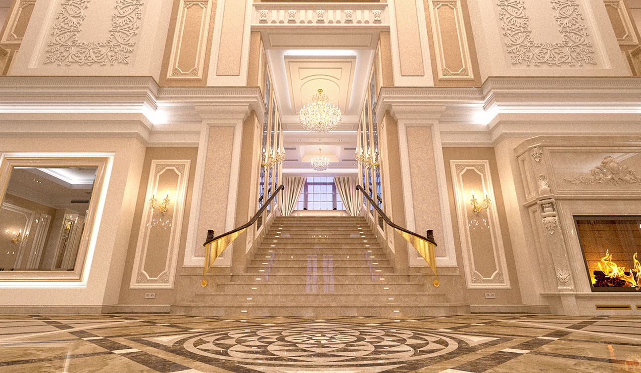INDESIGNCLUB - Excellent classic interior of the private ...