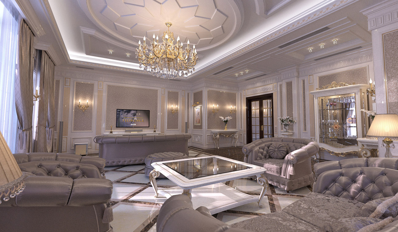 The Classical Living Room Is A Formal And A Very Precise Reflection Of