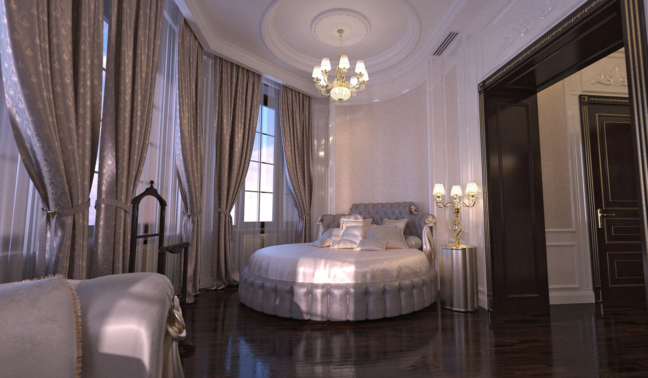 Luxury and Glamour Bedroom Interior Design in Art Deco style 02