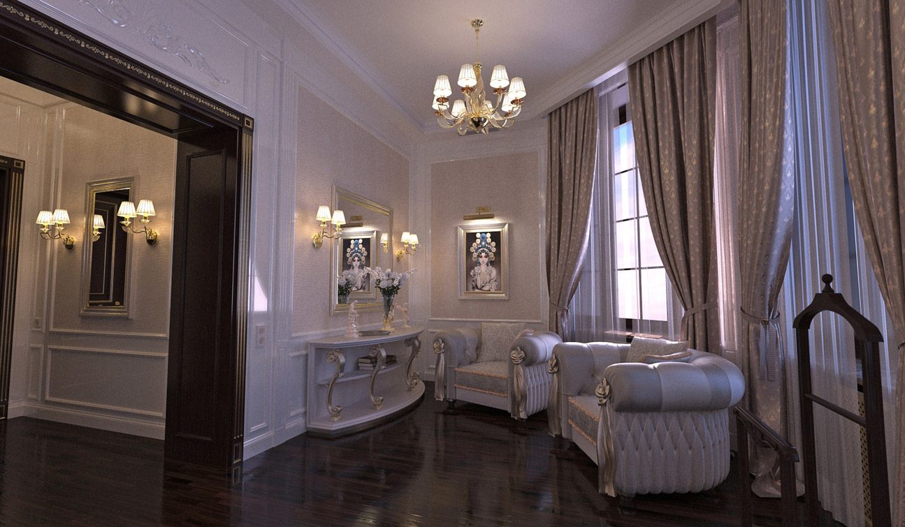 Luxury and Glamour Bedroom Interior Design in Art Deco style 04